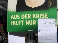 Die Grünen auf dem Klausenerplatz
