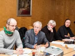 Diskussionsrunde mit dem Wassertisch über die Wassercharta / Foto © Frank Wecker