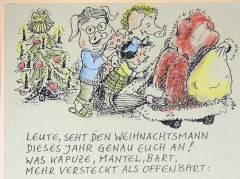 Weihnachtskarte von © Elke Querbeet