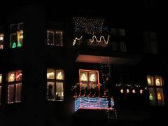 Weihnachtsbeleuchtung im Kiez