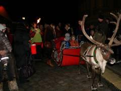 wie schon am Vortag auf dem Weihnachtsmarkt vor dem Schloß Charlottenburg