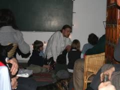 Weihnachtsfest im Mieterclub - wenn ein Zauberer verzaubert, staunen sogar naseweise Kids