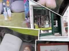 Miss Preussen im Fenster der kleinen Werkgalerie