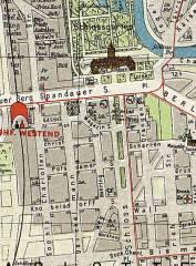Pharus-Plan von Berlin um 1905 / Bildquelle Wikipedia