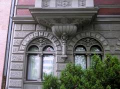 Detail der Fassade 111a