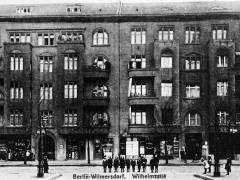 Wilhelmsaue 133 und 132, nach 1905 / Quelle - © Museum Charlottenburg-Wilmersdorf