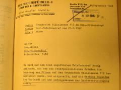 Schreiben von 1942 / © Erste Kirche Christi