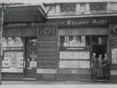 Uhlandstraße 102 um 1920 / Foto Firmenarchiv der Druckerei Heenemann