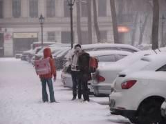 Winter im Kiez - Juchhee der erste Schnee