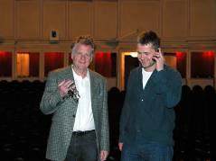 Jürgen Wölffer übergab 2004 die Schlüssel zum Theater an seinen Sohn Martin / Foto © Frank Wecker