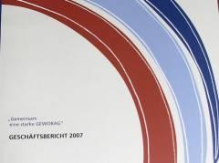 GEWOBAG Geschäftsbericht 2007