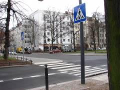 Fußgängerüberweg  Schloßstraße