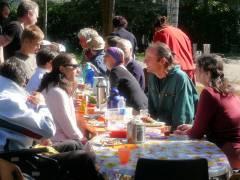 Sonntagsfrühstück im Ziegenhof