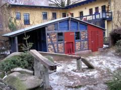 Das neue Ziegenhaus - Januar 2011